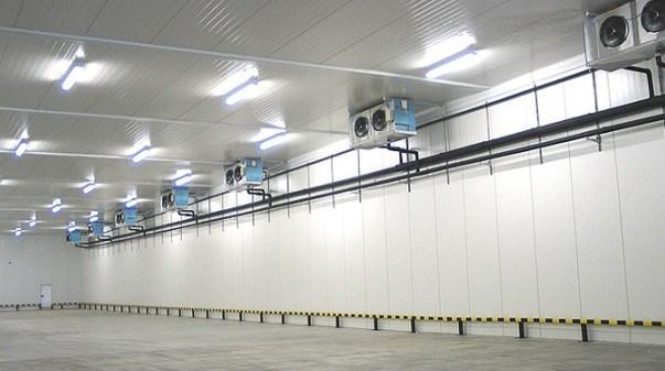 Системы вентиляции в складском помещении