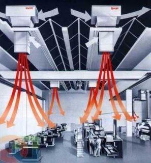 Принудительный воздухообмен в производственном помещении