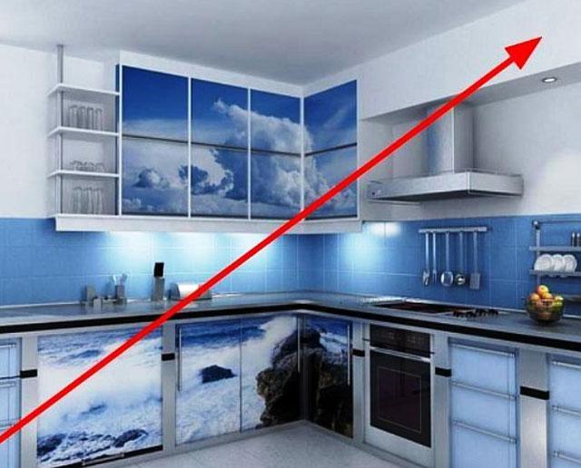 Способы декорирования труб для вытяжки на кухне
