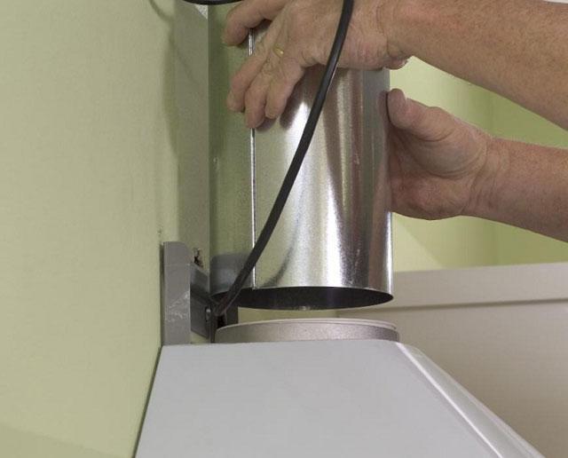 диаметр вентиляционной трубы для вытяжки