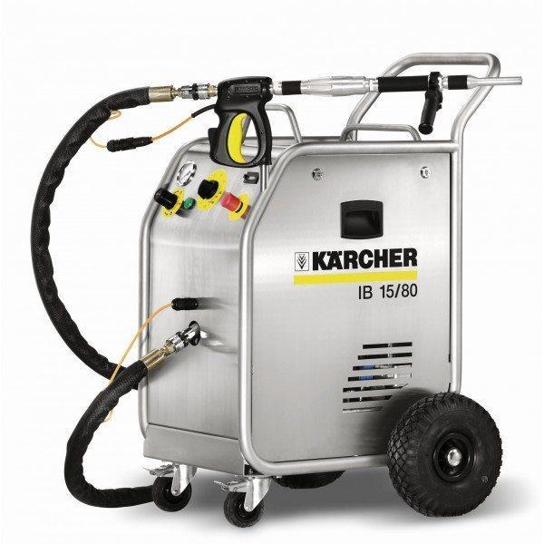 Агрегат для чистки сухим льдом.