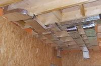 вентиляционные короба в каркасном доме