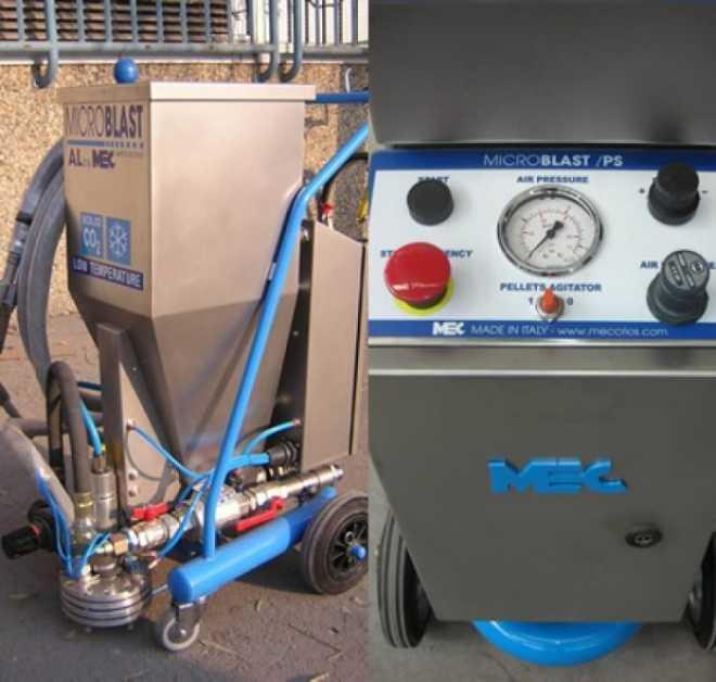 Бластер MB/MONO-PS для сухого льда
