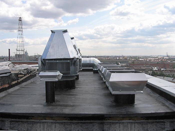 Системы вентиляции зданий различного назначения