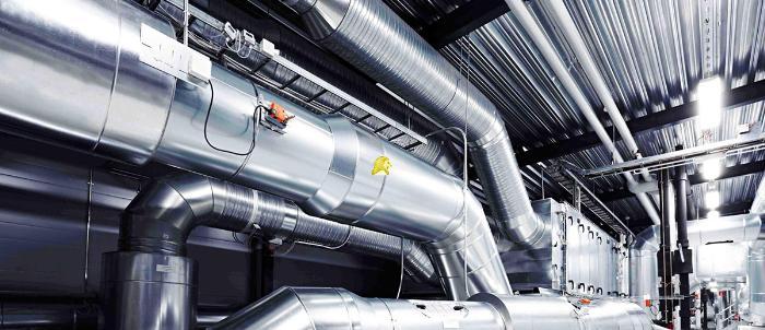 вентиляция производственных зданий