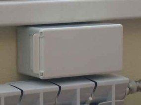 Коробка приточного клапана