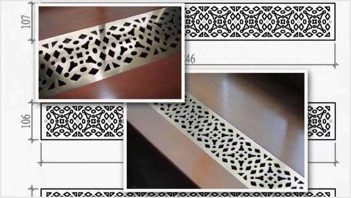 В компаниях, занимающихся производством элементов декорирования помещений, можно заказать вентиляционные решётки по индивидуальным эскизам