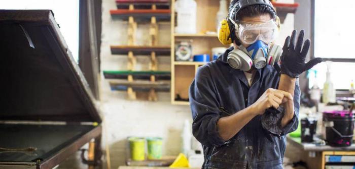 Обустройство мастерской своими руками   Безопасность работ
