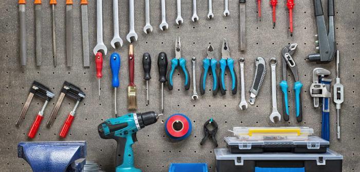 Обустройство мастерской своими руками   Места для хранения инструментов