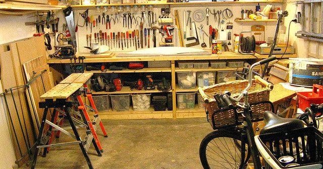 Обустройство мастерской своими руками   Место под мастерскую