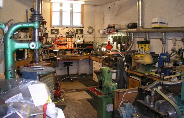Обустройство мастерской своими руками   Вентиляция мастерской