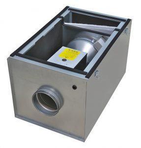 приточная вентиляция с подогревом воздуха Systemair