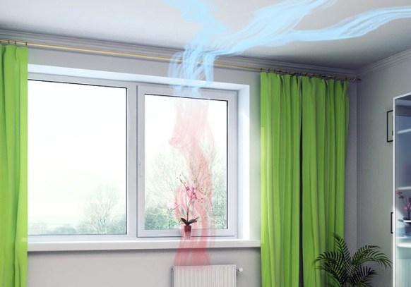 Воздухообмен в комнате