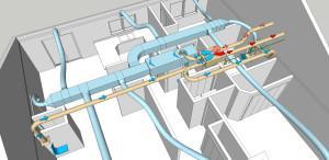 Конструкция вентиляционной установки