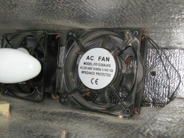 Вентиляторы для инкубатора