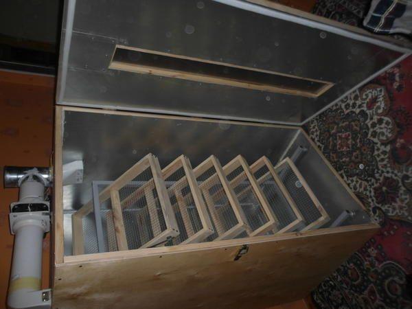 Самодельный инкубатор с системой вентиляции