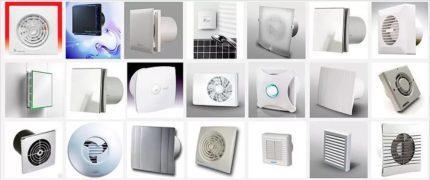 Вентиляторы в санузел