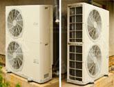 Монтаж чиллера CIAT для системы охлаждения загородного дома