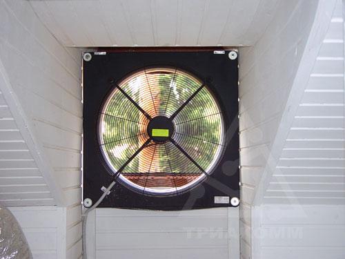 В качестве вытяжной вентиляции в доме могут применяться вытяжные вентиляторы