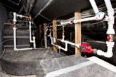 Вентиляционная система на чердаке загородного дома