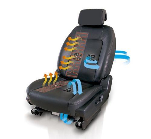 как работает вентиляция сидений