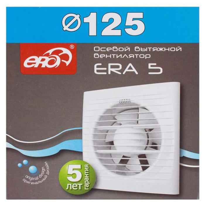 подключение осевого вытяжного вентилятора ERA 5