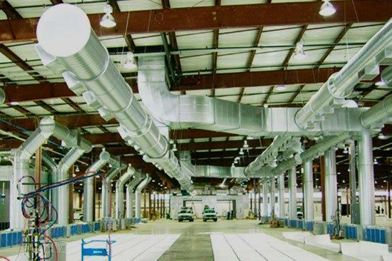 Cистемы вентиляции для производственных помещений