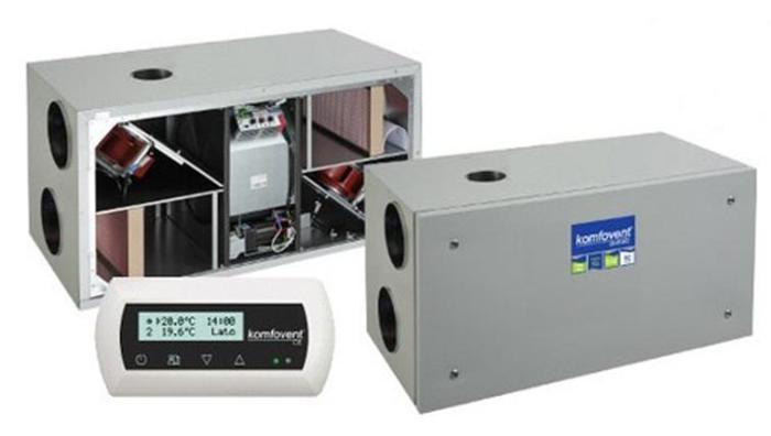 Образцы вентиляционного оборудования