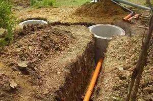 Магистральный канализационный трубопровод