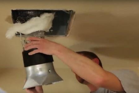 Работы по очистке систем вентиляции проводятся исключительно специализированными службами СЭС