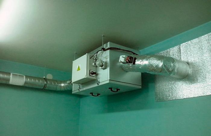 Устройство вентиляции при газовом отоплении