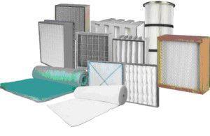 разнообразные фильтры для вентиляции