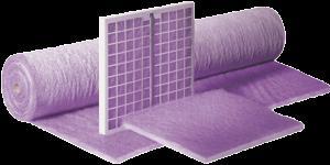 рулонный материал и фильтровальные маты из синтепона