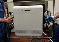 Установка вентиляционной системы