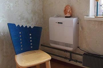Система проветривания в комнате