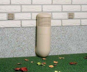 Этот метод вентиляции самый примитивный, но его можно применить для погребов с площадью не больше 5м²