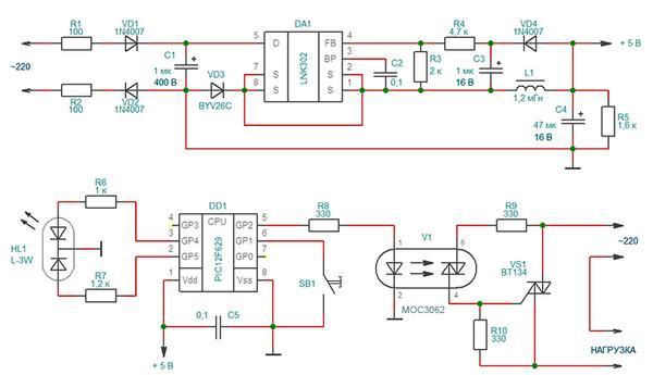 Смотрим схему управления вытяжными вентиляторами и калориферами в системе с рекуператором 3