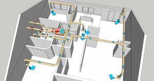 Схема вентиляции на производстве