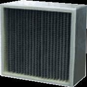Фильтр ячейковый складчатый сорбиционный ФяС-С
