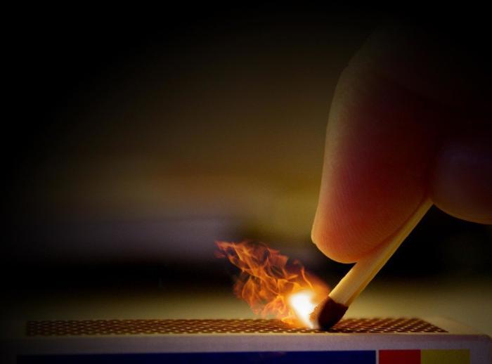 проверка огнем