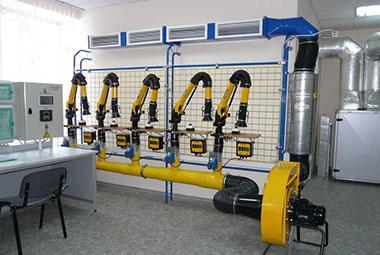 Вентиляция лаборатории электроники