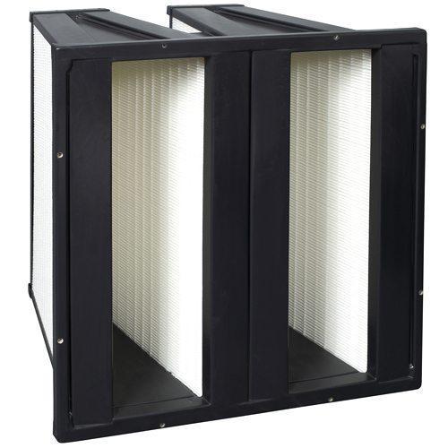 Так выглядит фильтр вентиляции, необходимый для тонкой очистки воздуха.