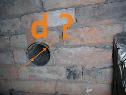 Расчет диаметра труб вентиляции