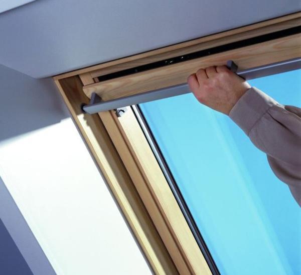 Мансардные окна, вентиляция, проветриватели