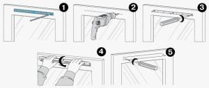 порядок установки оконного клапана