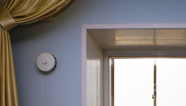 Вентиляционный клапан в стене квартиры