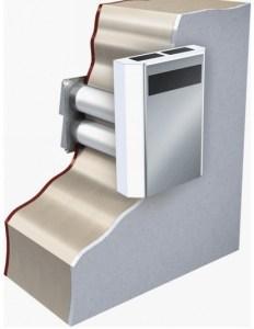 Установка вентиляционной установки