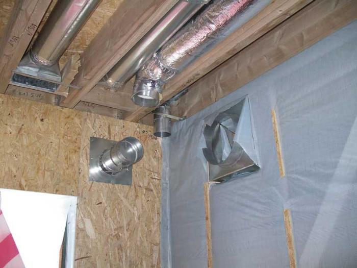 нужна ли вентиляция в каркасном доме