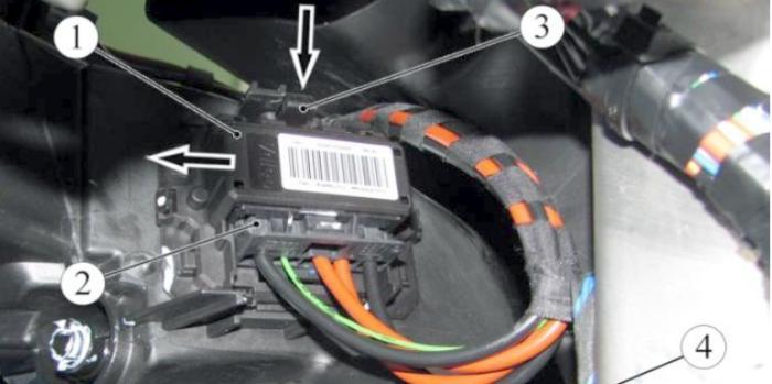 Добавочный резистор вентилятора лада веста