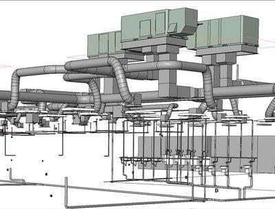 Моделирование вентиляционных и трубопроводных систем
